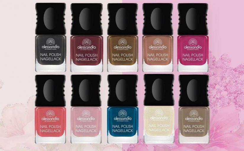 Le «Must Have» de 2018 ! Les «Vernis couleur» Alessandro, testés et approuvés par NC Beauty Pro !